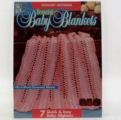 Beautiful Baby Blankets 7 Crochet Patterns HOUSE of WHITE BIRCHES Patterns #HouseofWhiteBirches