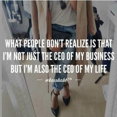 CEO of my life