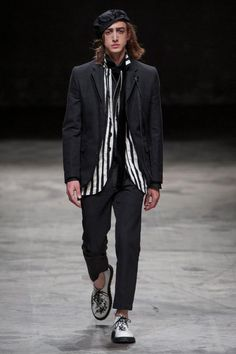 Ann Demeulemeester - Spring 2014 Menswear 12 - The Cut - The Cut