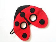 pattern for a ladybug mask