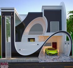 Top Modern House Design Ideas For 2021 - Engineering Discoveries Modern Exterior House Designs, Best Modern House Design, Modern House Facades, Cool House Designs, Modern Design, Bungalow Haus Design, Duplex House Design, House Outside Design, House Front Design