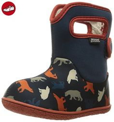 Bogs Baby Bogs Wellies UK 6 (Toddler) Classic Polar Bears Dark Blue Multi - Kinder sneaker und lauflernschuhe (*Partner-Link)