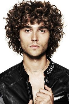 Stupendous Curly Hair Curly Hair Men And Curly Hairstyles On Pinterest Short Hairstyles Gunalazisus