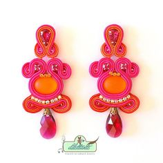 Hey, I found this really awesome Etsy listing at https://www.etsy.com/listing/163378582/soutache-earrings-swarovski-crystal