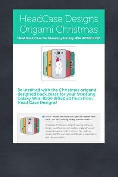 HeadCase Designs Origami Christmas
