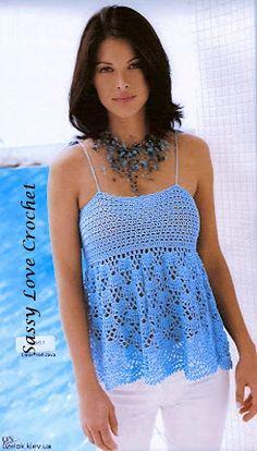 Crochet Woman Crochet Pattern  Cover up by SassyloveCrochet