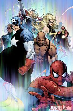 Avengers by Olivier Coipel