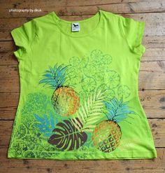 Ručně malované tričko od paní Dagmar Kukučkové. Tie Dye, Photography, Tops, Women, Fashion, Moda, Photograph, Fashion Styles, Fotografie