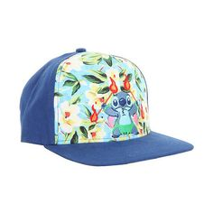 affbf4cb62b Disney Lilo Stitch Fire Dance Snapback Hat Hot Topic ( 14) ❤ liked on Polyvore  featuring accessories