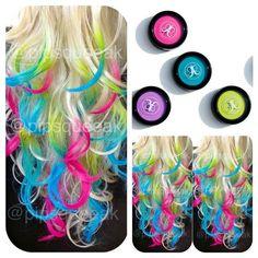 Hair chalk this is pretty