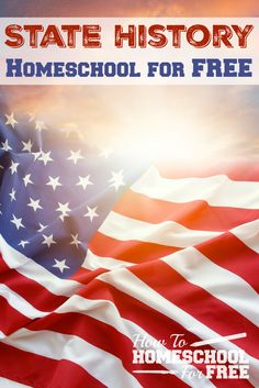 FREE homeschool history resources for your state! Printables, games, activities, and more! Teaching Geography, Teaching History, Kindergarten, History Activities, Study History, Home Schooling, Homeschool Curriculum, Kids Education, Just In Case