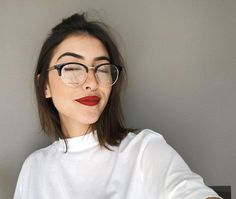 The most crazy thing is that I was not looking for anything, so fate … # Fanfic # amreading # books # wattpad Cool Glasses, New Glasses, Girls With Glasses, Glasses Frames, Fashion Eye Glasses, Beauty Make Up, Beauty Skin, Cute Girls, Baby Girls