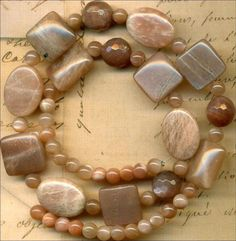 """Pink Moonstone Beads~Glowing~Faceted Rounds~Ovals 16"""" Str Lovely TUCSON GEM SHOW"""