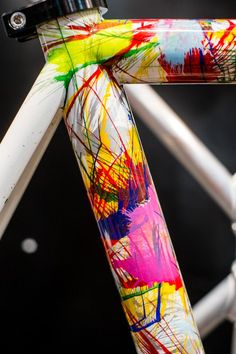 A Dario Pegoretti Hand-painted Road Frame Visit us @ http://www.wocycling.com/ for the best online cycling store.