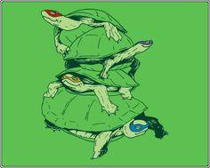 Masked Turtles T-Shirt