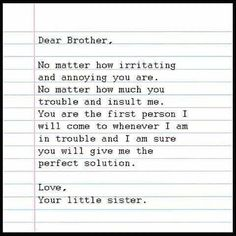 Tag-mention-share with your Brother and Sister 💙💚💛👍 Brother Poems From Sister, Older Brother Quotes, Sibling Quotes Brother, Happy Birthday Brother From Sister, Best Brother Quotes, Little Brother Quotes, Brother Birthday Quotes, Sister Quotes Funny, Frases