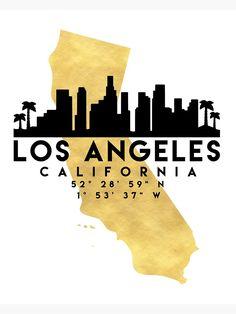 It's designed as a poster, but it's a great tattoo idea, too. Born in LA? Los Angeles Map, Los Angeles Skyline, California Map, Los Angeles California, California Tattoos, Map Wall Art, Map Art, Skyline Tattoo, Cali Tattoo