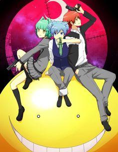 Kayano , Nagisa and Karma