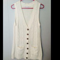 Sweater vest Long, sweater vest GAP Jackets & Coats Vests