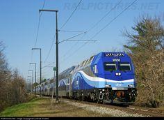 RailPictures.Net Photo: AMT 1350 Agence Metropolitaine de Transport Bombardier ALP-45DP at Deux-Montagnes, Quebec, Canada by Lorence Toutant...