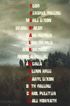 The Walking Dead Season 1 Cast Members