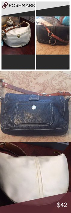 Two Coach Handbags for one price See each bag that is listed individually for details. Buy both and save Coach Bags