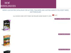 ① New Monologues For Actors, Agents And Drama Teachers - http://www.vnulab.be/lab-review/%e2%91%a0-new-monologues-for-actors-agents-and-drama-teachers