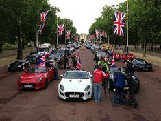 Top Gear caught filming Best of British near Buckingham Palace