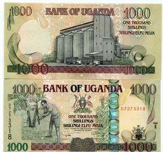 Uganda P43 2009 1000 Shillings UNC Banknote Paper Money
