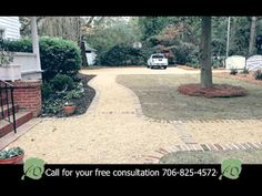 Need a pebble driveway installation? Call Dalzell Design Landscaping today for your free landscape design consultation.