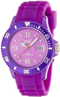 Best women's watches#Ice-Watch Unisex SI.PE.U.S.09 Sili Collection Purple Plastic and Silicone Watch#Sport watches