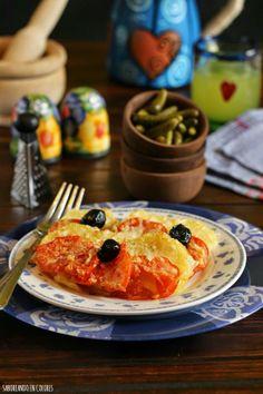SABOREANDO EN COLORES: Patatas a la nizarda