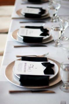 12 #Formal Tables You Can Copy for Any #Event ... → DIY #Dinner