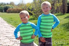 Raglan Shirt pattern 18mth - 10T | Craftsy