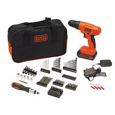 BLACKDECKER BDC120VA100 20Volt MAX LithiumIon Drill Kit with 100 Accessories -- Want to know more, click on the image. This is Amazon affiliate link. #HomeImprovementTools
