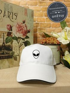 Alien cap Ufo alien hat Baseball Cap Low Profile by Lessssismoreee Baseball  Cap Outfit 16efb41f6e97