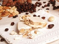 Torrone.. yum almonds and sugar!
