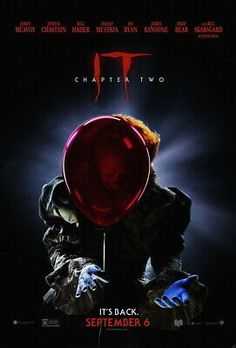 Poster It Chapter 2 Clown Stephen King Pennywise Poster Print Cinema Two Movies, Movies 2019, Bill Hader Movies, Pennywise Poster, Free Tv Shows, Movies To Watch Online, Upcoming Movies, Streaming Movies, Hd 1080p
