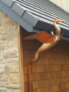 Awesome downspout!