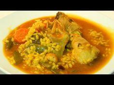 Recetas de cocina con sabor tradicional: Receta de arroz con pollo y verduras
