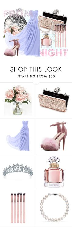"""""""prom queen"""" by esrakazimoglu ❤ liked on Polyvore featuring Home Decorators Collection, Miss Selfridge, Remedios, Bling Jewelry and Guerlain"""