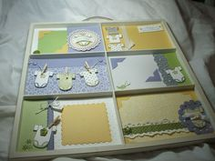 Baby Tees photo tray project / 31 Days of Doilies Blog Series from Song of My Heart Stampers