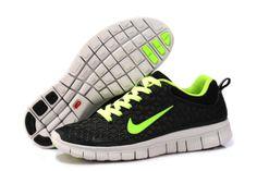 Herren Nike Free 6.0 Schuhe - schwarz