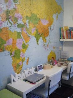 Leuk om een fotobehang op de kinderkamer te gebruiken. Zowel leuk voor jongens als voor meisjes. Dit is de kamer van mijn oudste dochter zij is 8 jaar.