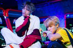 Jimin and V ❤ BTS Naver Dispatch Love Yourself 承 'Her' Photos! (Original: m.entertain.naver.com) #BTS #방탄소년단