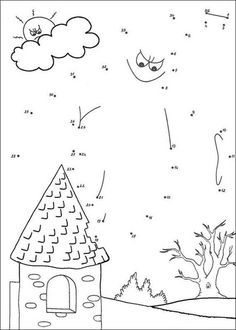 GHOST dot to dot game printable connect the dots game. If you are crazy about printable dot to dot games, you will love this GHOST dot to dot game . Mazes For Kids, Free Games For Kids, Little Boy Games, Connect The Dots Game, Dot To Dot Printables, Ghost Games, Theme Halloween, Thanksgiving Crafts, Le Point
