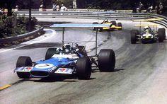 #4 Jacky Ickx (B) - Brabham BT26A (Ford Cosworth V8) 6 (7) Motor Racing Developments #6 Bruce McLaren (NZ) - McLaren M7C (Ford Cosworth V8) 2 (13) Bruce McLaren Motor Racing #7 Jackie Stewart (GB) - Matra MS80 (Ford Cosworth V8) 1 (4) Matra International