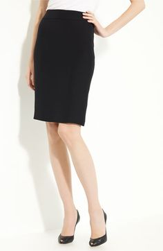 skirt, pencil, black
