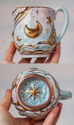Moon Mugs Alive Ceramics Shop on Etsy | Affiliate Partner, Ceramic Shop, Pottery Mugs, Moon, Aesthetics, Tableware, Shopping, Etsy, Ceramic Store