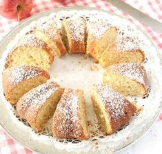 Apple cake with cinnamon - really moist and tasty Cookie Desserts, No Bake Desserts, Apple Cinnamon Bread, Cake Recipes, Dessert Recipes, Swedish Recipes, Swedish Foods, Sweet Pastries, Yummy Cookies